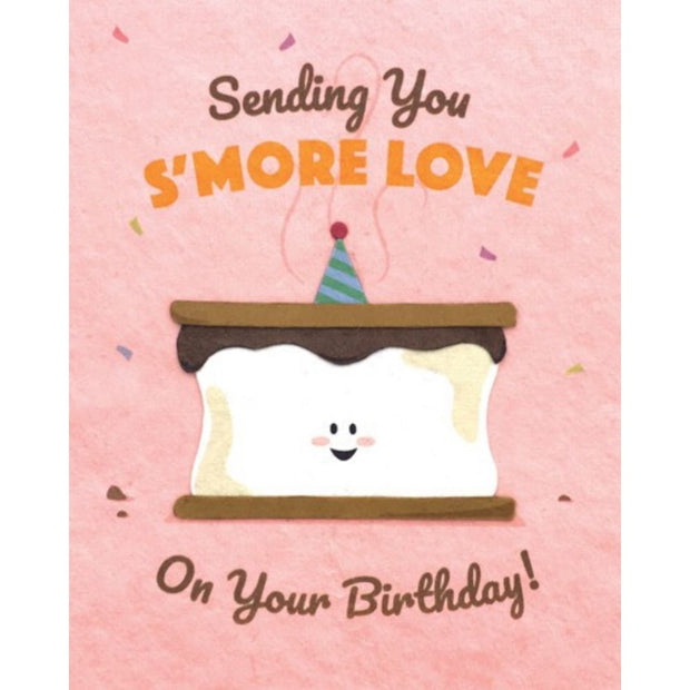 S'more Love Birthday Card
