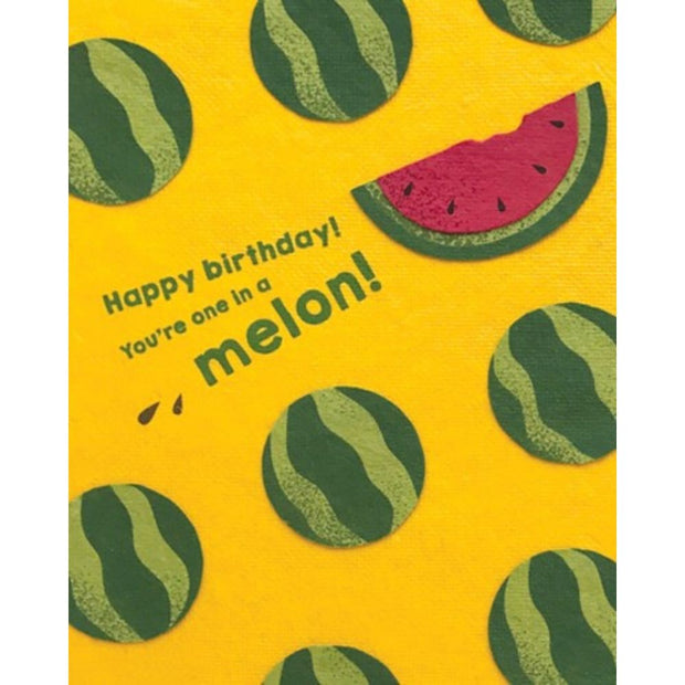 One Melon Birthday Card by Good Paper