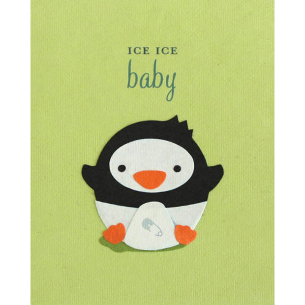 Ice Ice Baby Card by Good Paper