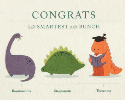 Thesaurus Congrats Card