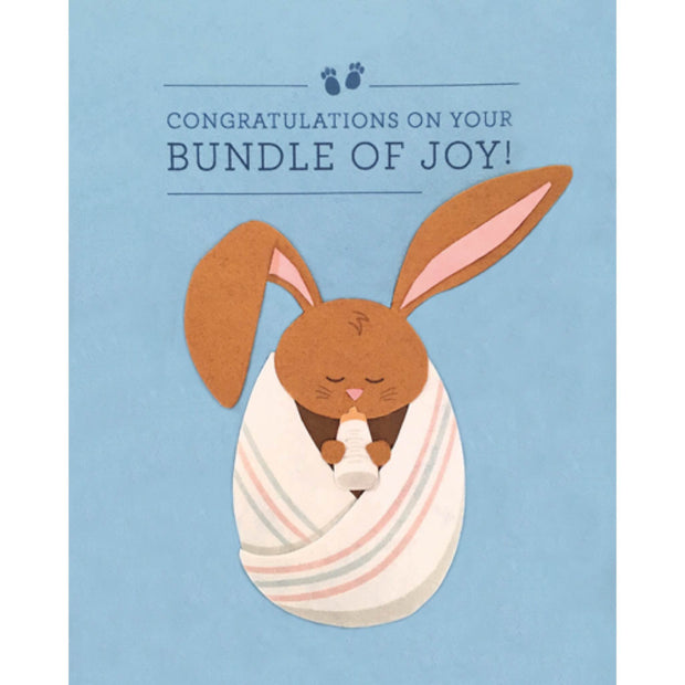 Congratulations Bundle of Joy Card by Good Paper