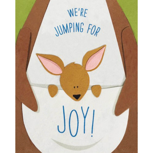 We're Jumping for Joy Card by Good Paper