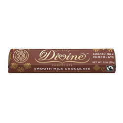 Divine 1.2 Oz Milk Chocolate Small Bar