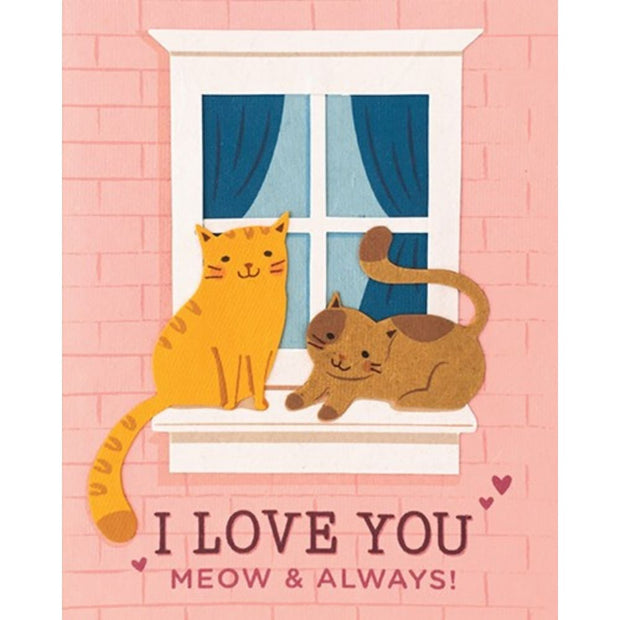 Meow and Always Card by Good Paper