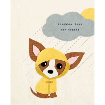 Brighter Days Ahead Card by Good Paper