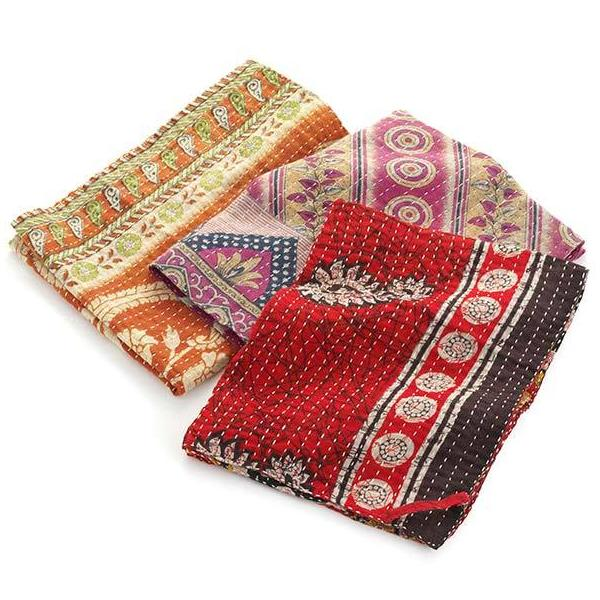 Assorted Reversible Kantha Dish Towels