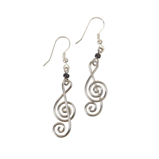 Music Theory Treble Clef Note Earrings
