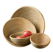Set of Four Round Nesting Baskets