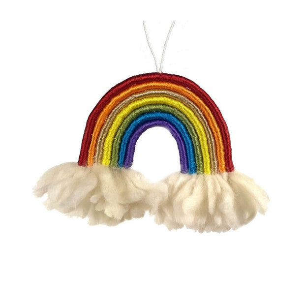 Rainbow on Clouds Wall Decor