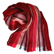 Cozy Acrylic Scarf - Red