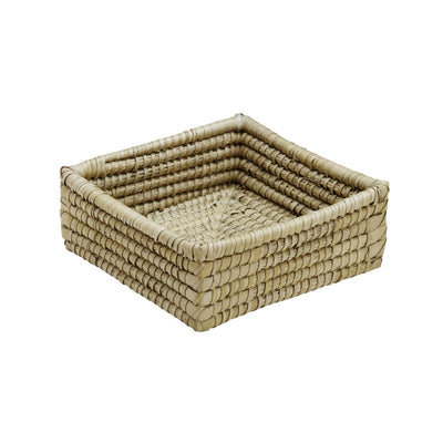 "Kaisa Grass Square Basket 9.5"" x 9.5"""