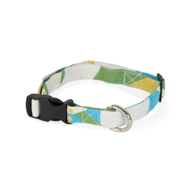 Cotton Fabric Dog Collar