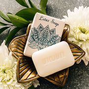 Vegetable Lotus Scented Soap Bar lifestyle