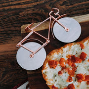 Stainless Steel Bicycle Pizza Cutter lifestyle