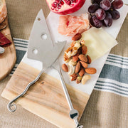 Stainless Steel Mouse Cheese Knife lifestyle