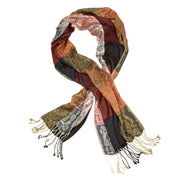 Jacquard Blocks Scarf