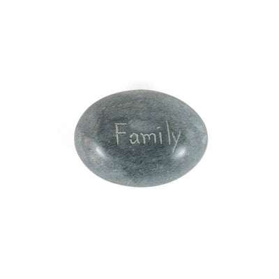 Stone Paperweight - Family