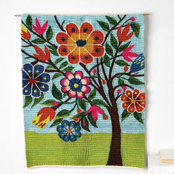 Spring Blossoms Wall Art Tapestry
