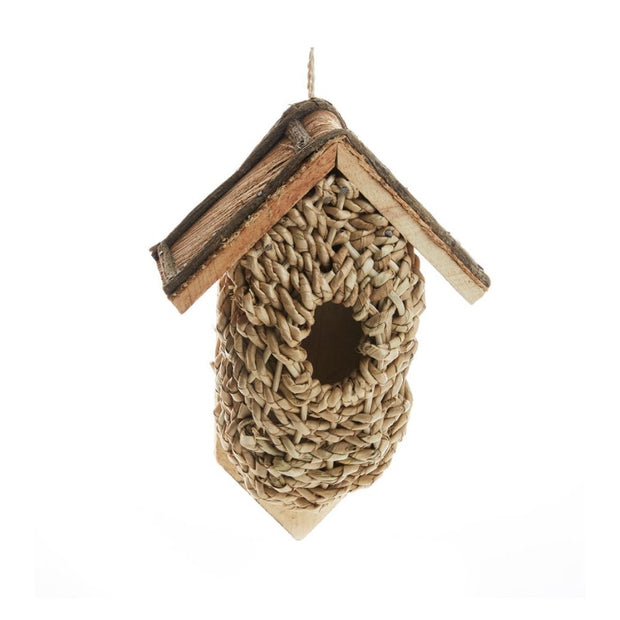 Wall-Mounted Basket Birdhouse