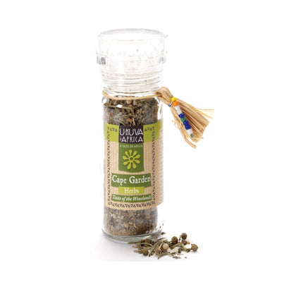 Cape Garden Seasoning Herbs with Built-in Grinder