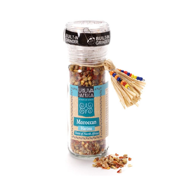 Moroccan Harissa Spice Blend with Built-in Grinder