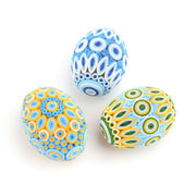 Quilled Easter Egg - Blue & Gold