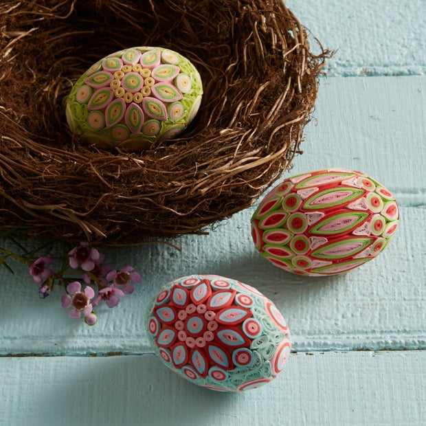 Quilled Easter Egg - Spring Radiance lifestyle