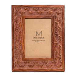 Botanical Rosewood Picture Frame 4inch x 6inch