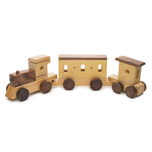 Indian Express Wooden Toy Train