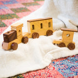 Indian Express Wooden Toy Train lifestyle