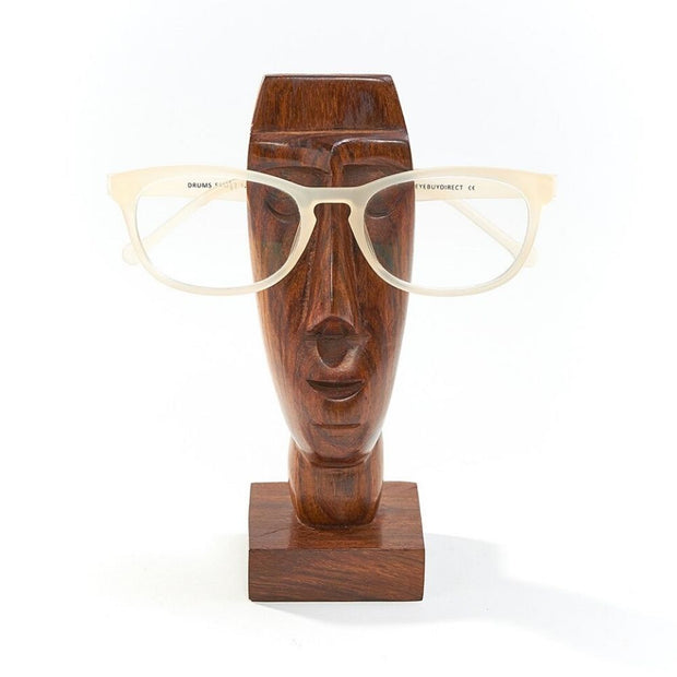 Rapa Nui Solid Wood Eyeglass Holder