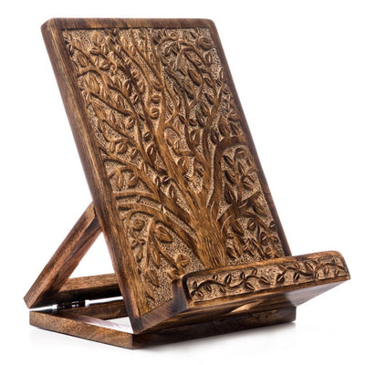 Aranyani Tree of Life Tablet or Recipe Book Stand