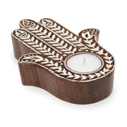 Hamsa Hand Aashiyana Tea Light Holder