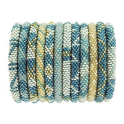 Aid Through Trade Glass bead Roll-On Bracelet-BELOW-DECK