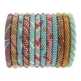 Aid Through Trade Glass bead Roll-On Bracelet-SOUTHWEST-VIBES