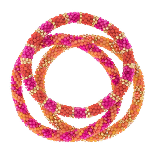 Roll-On® Bracelets Set of three - Carousel