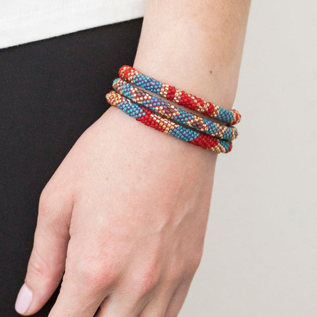 Roll-On® Bracelets Set of three - Kathmandu lifestyle
