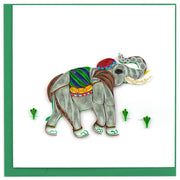 Elephant Quilling Card