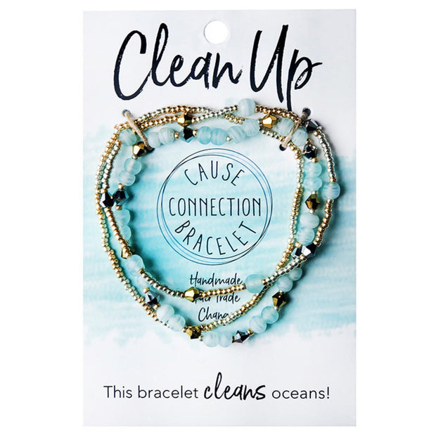 Cause Connection Bracelet - Clean Up