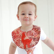 Cotton Batik Llama Applique Bib by Forai St. Louis lifestyle