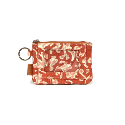 Bimla Printed Cotton ID Pouch - Autumn Shadow