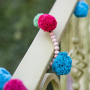 Beaded Gum Ball Garland detail