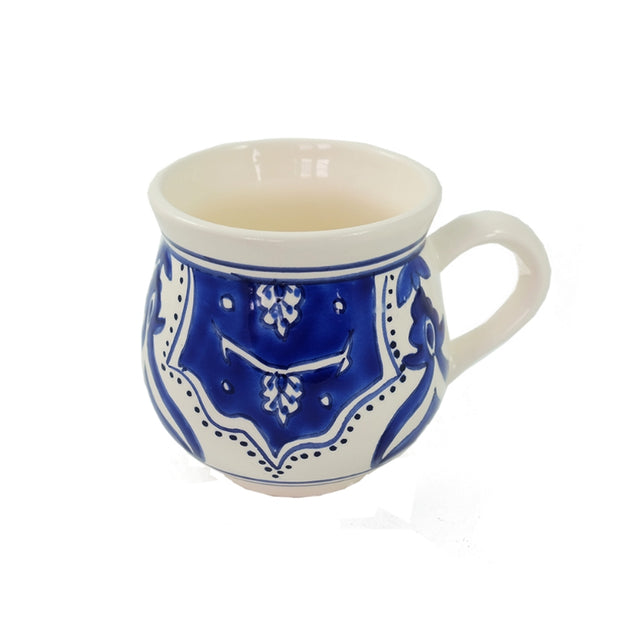 Dishes & Deco Nigella Cobalt Hand-painted Ceramic Mug