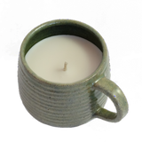 Candle in a Ceramic Mug