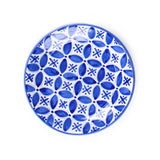 Fez Hand Painted Ceramic Side Plate - blue