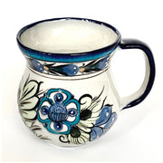 Hand-painted Wild Bird Ceramic Coffee Mug back view