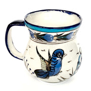 Hand-painted Wild Bird Ceramic Coffee Mug