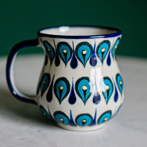 Hand painted San Antonio Palopo Coffee Mug lifestyle