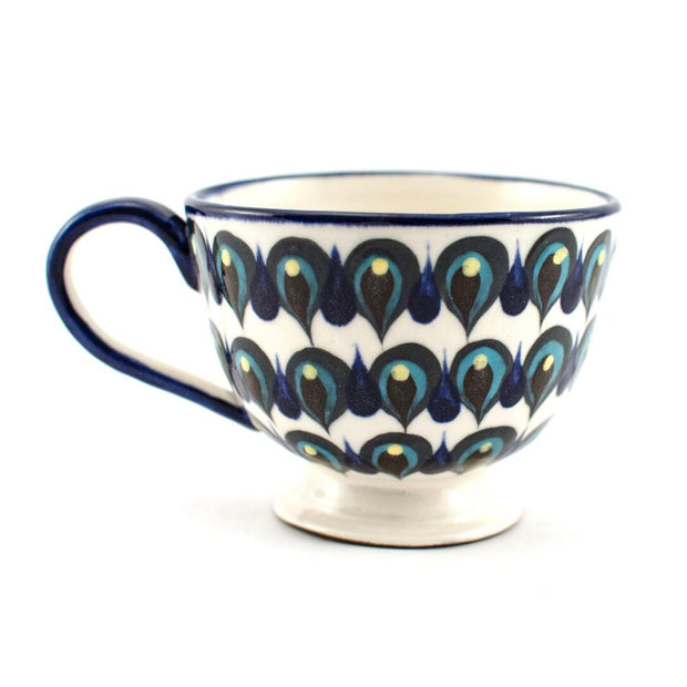 Hand-painted Cappuccino/Soup Cup