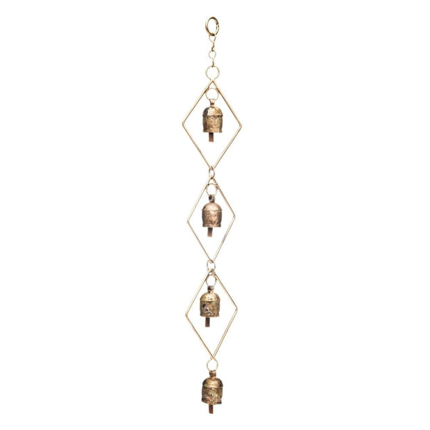 Delicate Diamond Four-Bell Chime